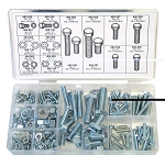 Metric Hex Bolt and Nut Assortment (225 Peices) Mr Mower parts # 08-240